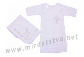 Комплект для крещения с крыжмой Valeri tex 1023-20-196-002