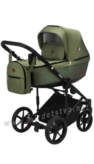 Модульная коляска для детей Adamex Amelia Lux AM280