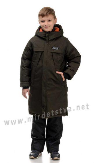 Пальто зимнее на мембране Traveler для мальчика