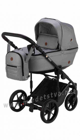Прогулочная детская коляска Adamex Amelia SM3 кожа