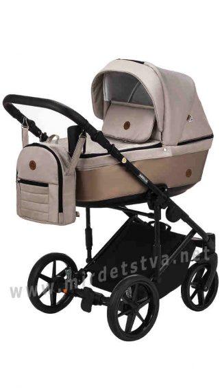 Прогулочная коляска для девочки Adamex Amelia Lux AM277