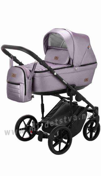 Прогулочная коляска для девочки Adamex Amelia SM7 кожа
