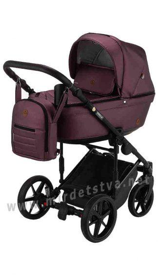 Прогулочная коляска для малыша Adamex Amelia SM8 кожа