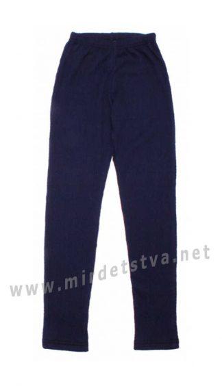 Синие лосины детские Valeri tex 2211-99-007-007