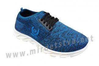 Синие текстильные кроссовки для мальчика Vends 06-42/A