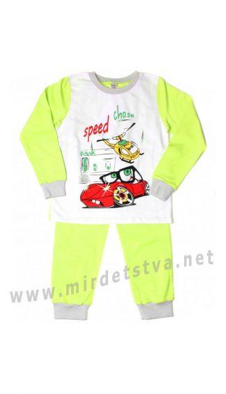 Утепленная пижама для мальчика Valeri tex 1770-55-055-014