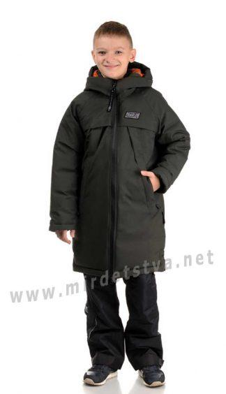 Зимнее пальто для мальчика Traveler термо коттон