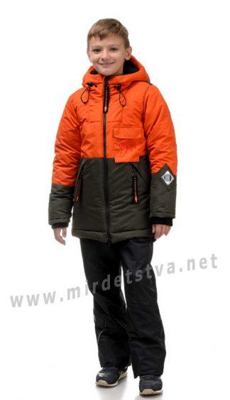 Зимняя куртка без опушки на мальчика Traveler Storm