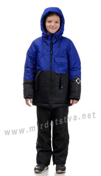 Зимняя куртка для мальчика Traveler Storm синяя