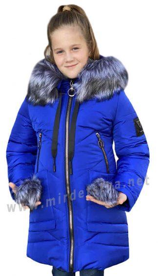Зимняя куртка с мехом на девочку Nestta Amelia