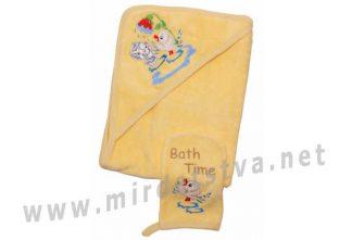 Банный комплект для новорожденного Valeri tex 1742-20-161-010