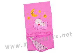 Розовое покрывало для малыша Valeri tex 2116-20-057-006