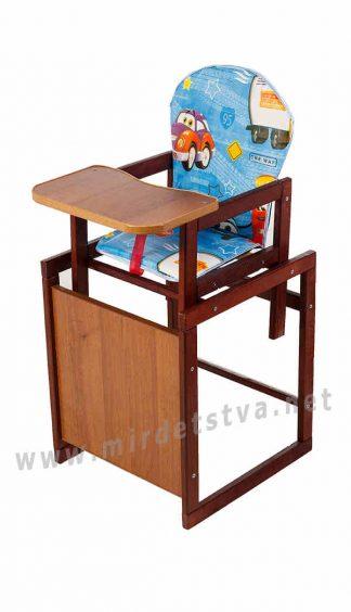 Стульчик для кормления деревянный Наталка Зайчик-22