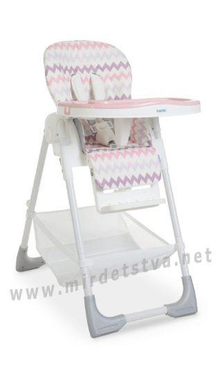 Стульчик со съемным столиком Bambi M 4507 Baby Pink