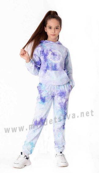 Модный детский костюм в спортивном стиле Mevis 3744-02