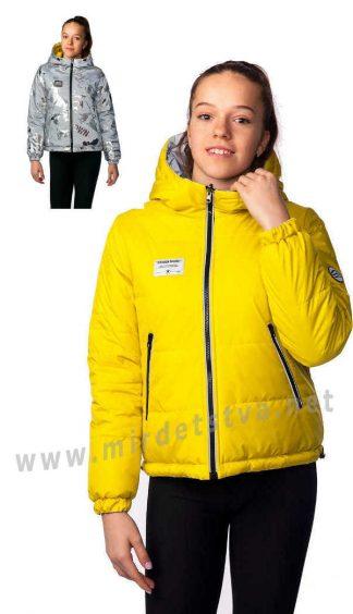 Подростковая демисезонная двусторонняя куртка на девочку Nestta Adel