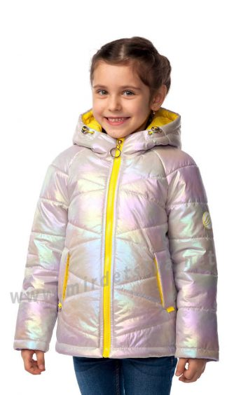 Весенняя куртка для девочки Nestta Raduga