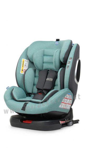 Автокресло для ребенка до 12 лет EL CAMINO ME 1079 Absolute Royal Turquoise