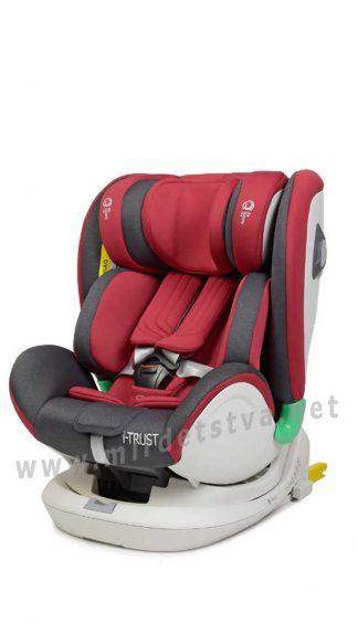 Автокресло для ребенка с рождения EL CAMINO ME 1081 RED