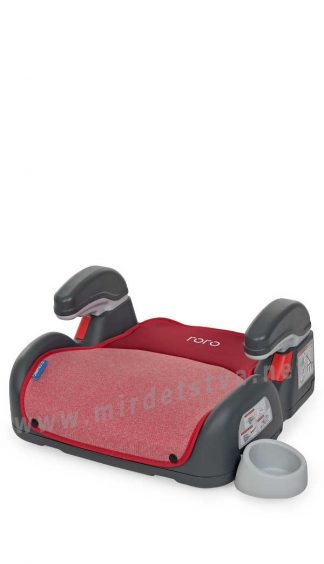 Бустер в авто EL CAMINO ME 1144 Roro Isofix Ruby Red