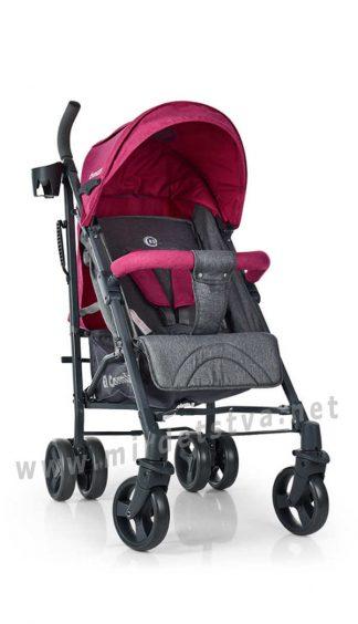 Детская прогулочная коляска трость EL CAMINO ME 1029 Pink