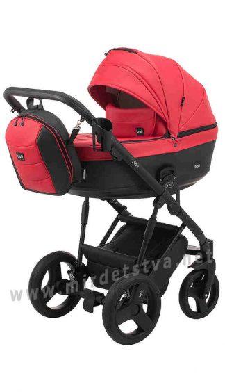 Красная коляска для новорожденного Bair Play BP-60/69