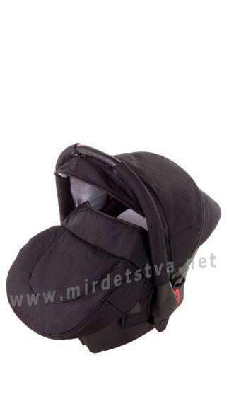 Кресло для новорожденного в авто Adamex Carlo черный