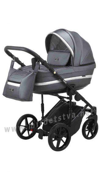 Практичная коляска детская Adamex Rimini ECO RI-253