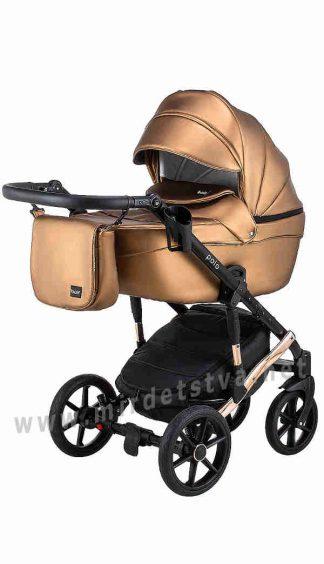 Прогулочная коляска для детей Bair Polo Cooper 28C кожа