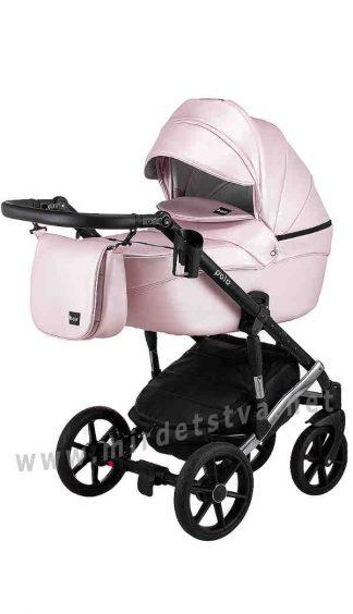 Прогулочная коляска для девочки Bair Polo Silver 39S