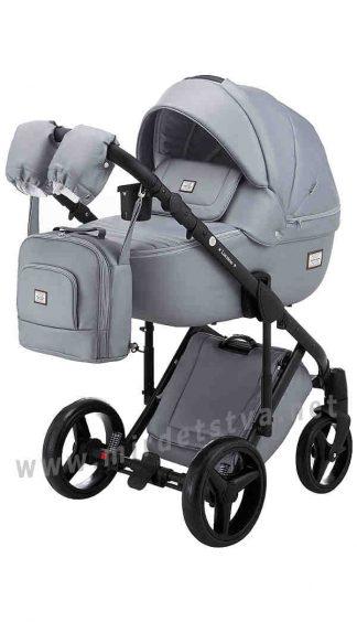 Прогулочная коляска для новорожденного Adamex Luciano Q121CZ