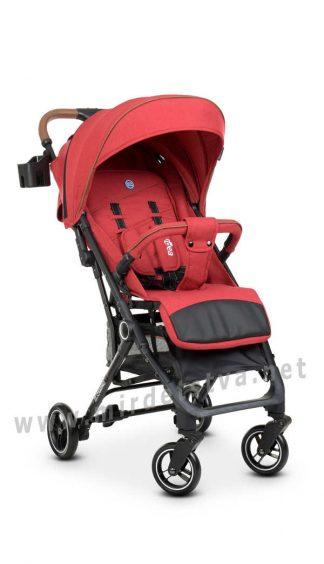 Прогулочная коляска книжка EL CAMINO ME 1039L Idea Crimson