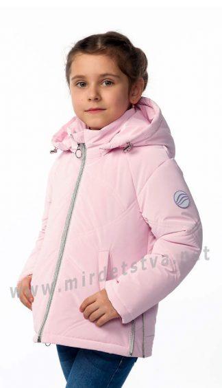 Розовая демисезонная куртка для девочки Nestta Lera