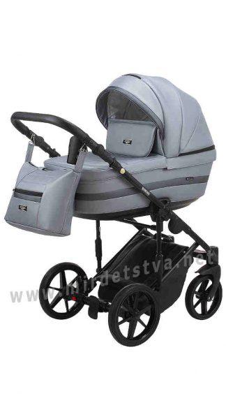 Современная детская коляска Adamex Rimini ECO RI-243 кожа 100%