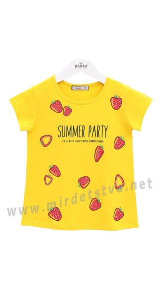Детская футболка с летним принтом Wanex