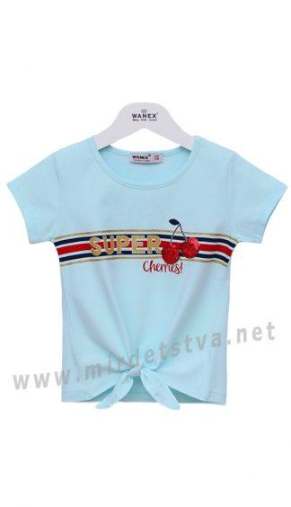 Детская футболка с завязками Wanex