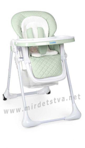Детский стульчик Bambi M 3890 Pale Green QT