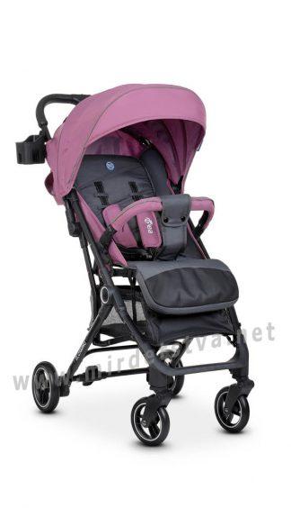 Фиолетовая прогулочная коляска EL CAMINO ME 1039 Idea Plum