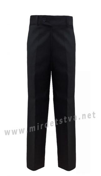 Классические черные брюки на мальчика 7186/1Б