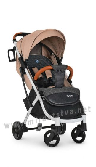 Коляска-книжка для малыша EL CAMINO M 3910 Yoga II Sand-W