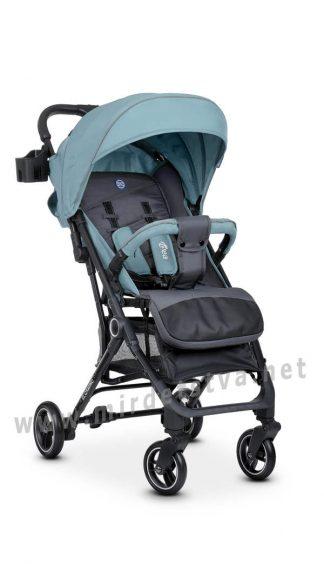 Коляска книжка для малыша EL CAMINO ME 1039 Idea Ice Blue