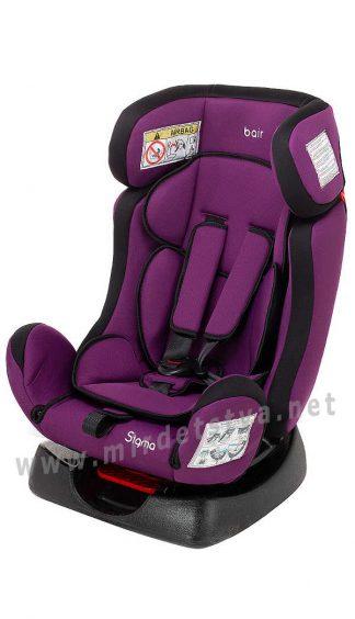 Кресло в автомобиль Bair Sigma DS1824 0-25кг