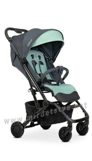 Легкая прогулочная коляска EL CAMINO ME 1070 Select Gray Mint