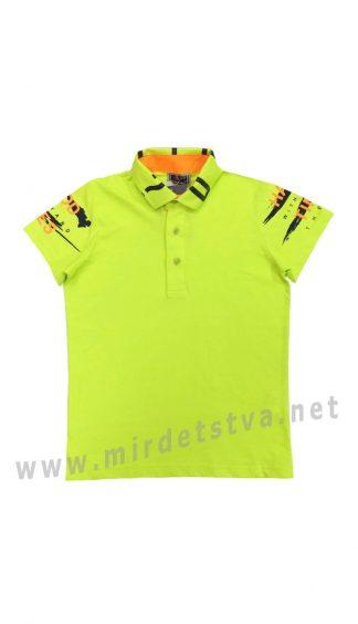 Летняя футболка поло для мальчика Cegisa 0751