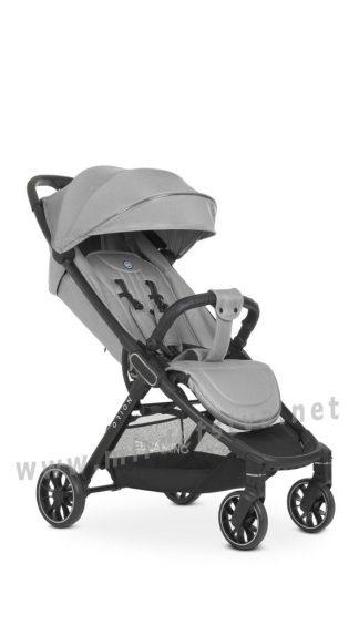 Прогулочная детская коляска EL CAMINO ME 1084 Orion Silver