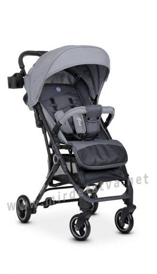 Прогулочная коляска детская EL CAMINO ME 1039 Idea Gray