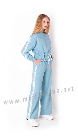 Прогулочный костюм со штанами клеш для подростка Mevis 3758-01