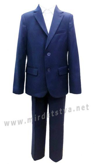Синий костюм в школу на мальчика 7186/2