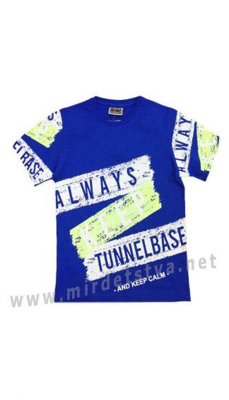 Синяя футболка для мальчика Cegisa 0562