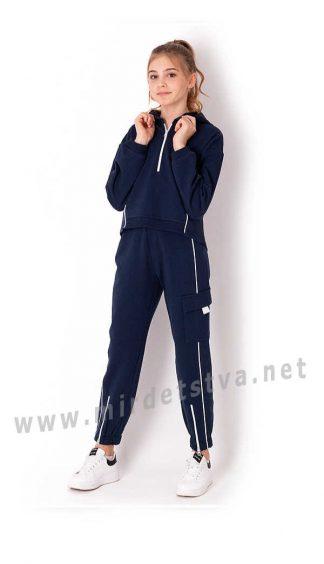 Трендовый подростковый костюм со штанами карго Mevis 3725-04